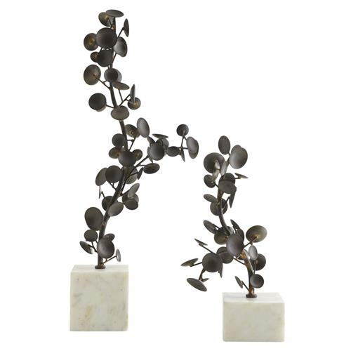 Genesis Antique Brass Iron Wire Round Stool End Table | Kathy Kuo Home