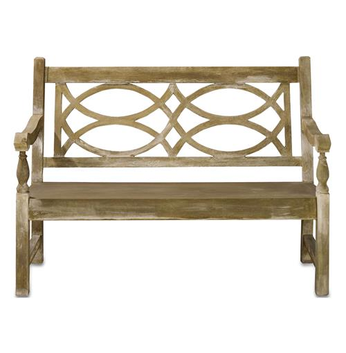 Traditional Classic English Garden Outdoor Bench | Kathy Kuo Home