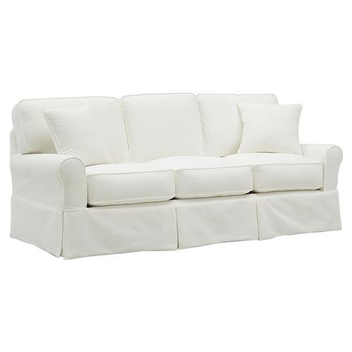 Peachy Edward Modern Classic Stain Resistant Ivory Upholstered Sofa Onthecornerstone Fun Painted Chair Ideas Images Onthecornerstoneorg