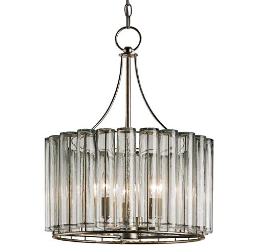 Industrial Loft Modern 3 Light Bud Vase Round Chandelier - Small | Kathy Kuo Home