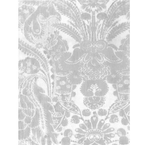 European Soft Damask Wallpaper - Stone - 2 Rolls | Kathy Kuo Home