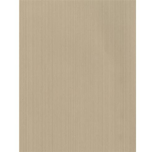 Strie Linear Contemporary Wallpaper - Taupe - 2 Rolls | Kathy Kuo Home