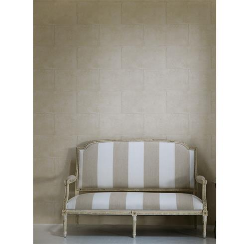 Camelot Museum Limestone Wallpaper- Plaster - 2 Rolls | Kathy Kuo Home