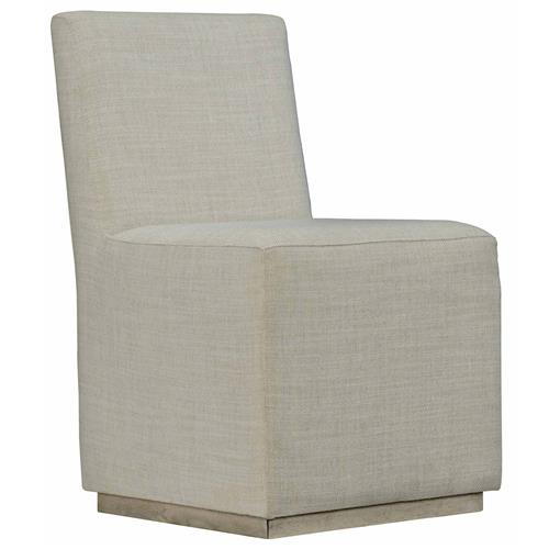 Maxine Modern Classic Beige Upholstered Dining Side Chair | Kathy Kuo Home