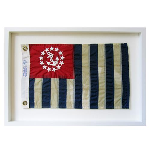 United States Power Squadrons Aged Flag  Wall Decor - by Karen Robertson | Kathy Kuo Home