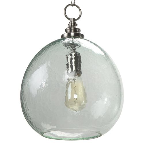 Regina Andrew Recycled Coastal Beach Recycled Glass Float Pendant | Kathy Kuo Home