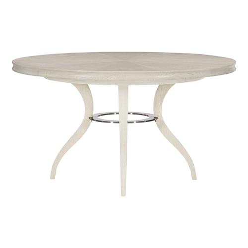 Audrey French Country White Oak Round, French Country Round Kitchen Table