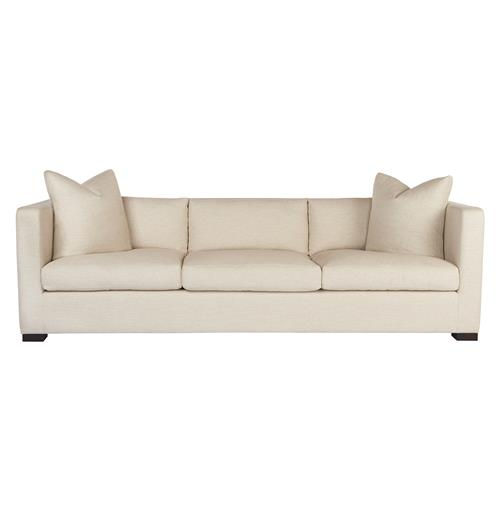 Cisco Brothers Agosto Modern Classic Feather Cloud Oatmeal Down Blend Sofa | Kathy Kuo Home