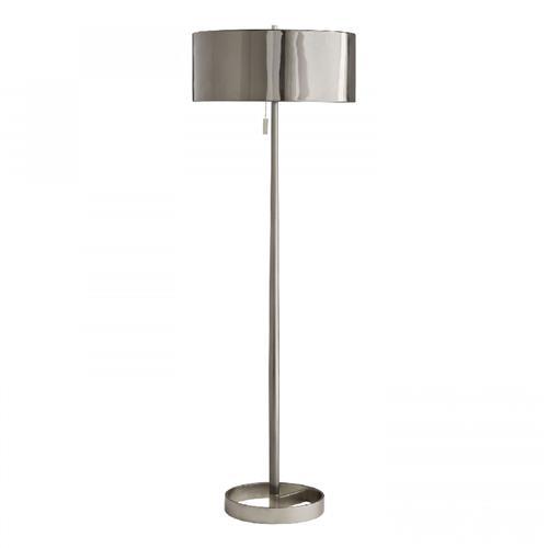 Kathy Kuo, Vintage Silver Floor Lamp