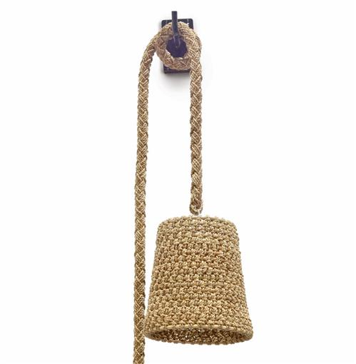 Palecek Green Oaks Nautical Rope Hanging Wall Pendant | Kathy Kuo Home