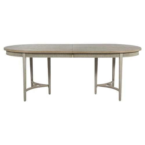 Whitlock French Country 1 Leaf Extendable Oak Dining Table | Kathy Kuo Home