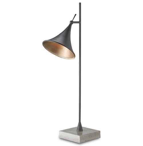 Grantham Modern Classic Industrial Concrete Task Light | Kathy Kuo Home
