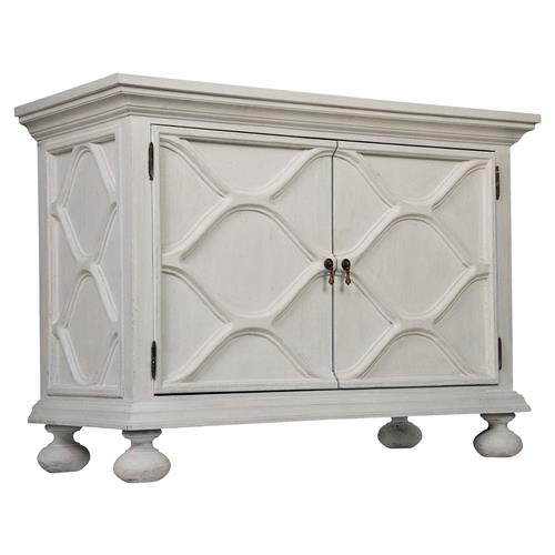 Noir Comles French Country White Weathered Wood Buffet Sideboard | Kathy Kuo Home
