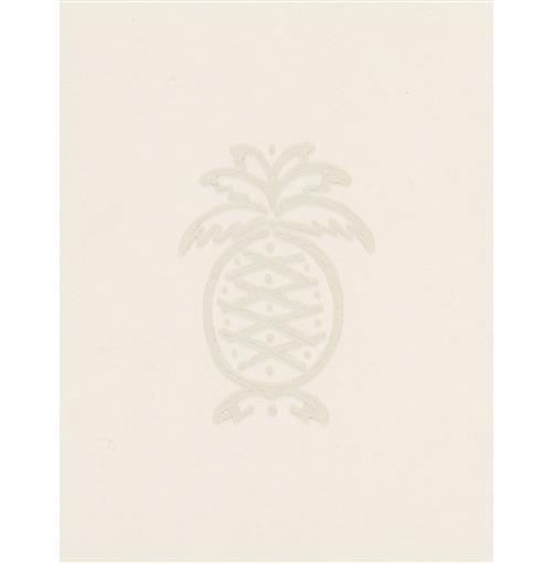 Classic Pineapple Motif Colonial Wallpaper - Natural | Kathy Kuo Home
