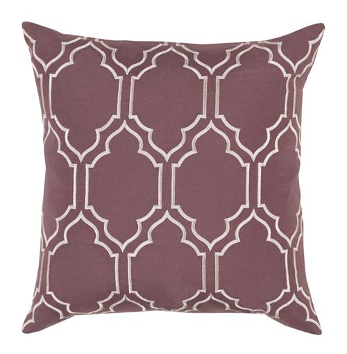 Keira Hollywood Regency Linen Down Brown Pillow - 18x18 | Kathy Kuo Home
