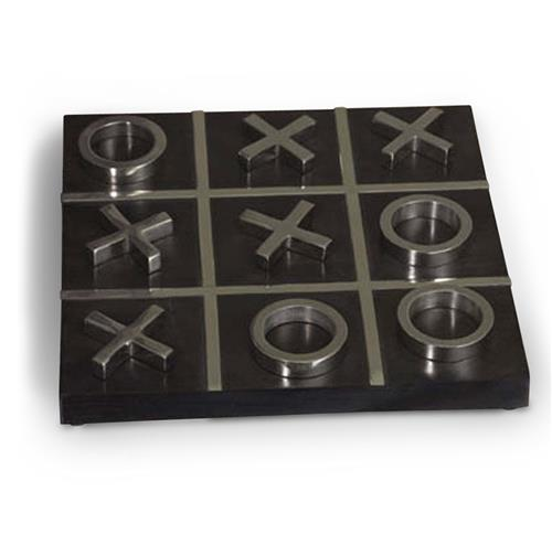 Belcaire Tic Tac Toe Tabletop Decorative Game Set | Kathy Kuo Home