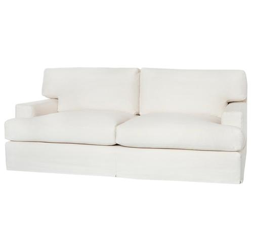 Cisco Brothers Cordova Modern Coastal Slipcovered Feather Down Sofa - 84 Inch | Kathy Kuo Home