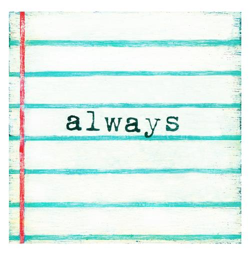 Always Lined Notebook Reclaimed Wood Wall Art - 12x12 | Kathy Kuo Home