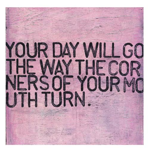Your Day Will Go Pink Distressed Reclaimed Wood Wall Art - 12 Inch | Kathy Kuo Home