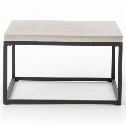 Daedulus Industrial Modern Concrete Simple Small Coffee Table