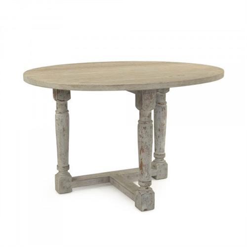 French Country Cottage Drop Leaf Prague Table | Kathy Kuo Home