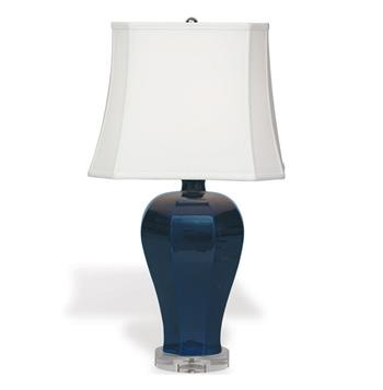 "Avenutura Blue White Coastal Style Modern Table Lamp- 28""H 