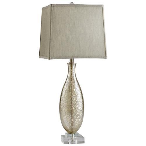 antique mercury glass modern elegant gold crackle table lamp table. Black Bedroom Furniture Sets. Home Design Ideas