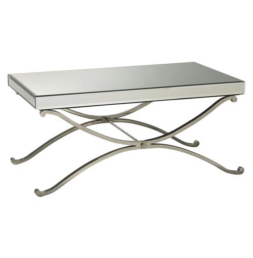 Contemporary Vogue Mirror Coffee Table | Kathy Kuo Home