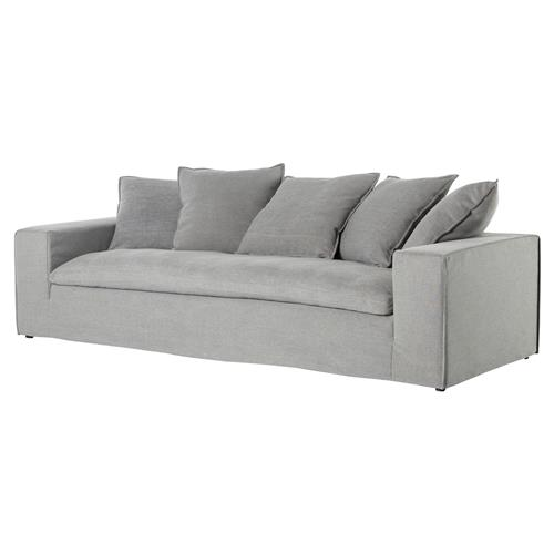 Edson Industrial Loft Modular Carbon Grey Sofa