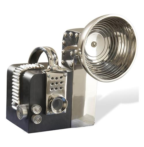 Enzo Decorative Art Deco Vintage Camera | Kathy Kuo Home
