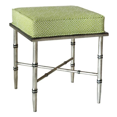 fast kitchen cabinets everet global green trellis burnished silver bamboo stool 15293