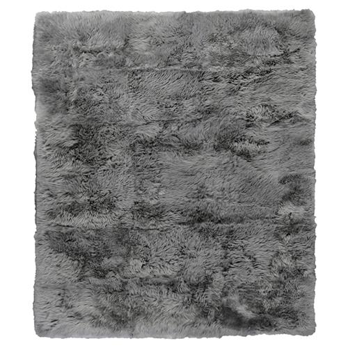 Exquisite Rugs Sheepskin Modern Classic Silver Grey Fur