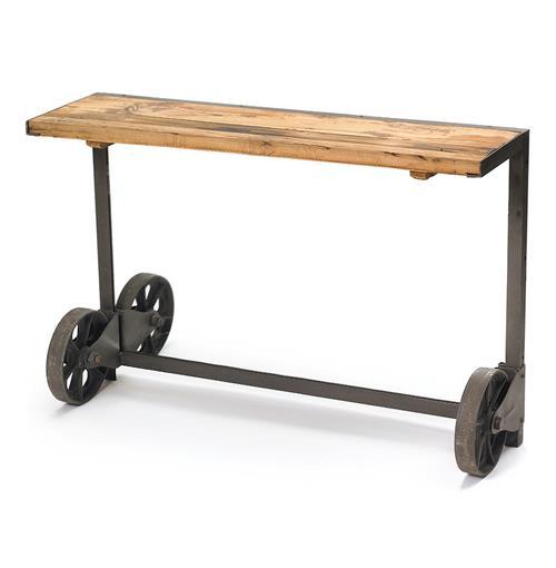 Industrial Steel Loft Style Trolley Console Table Kathy
