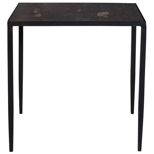 Rollins Industrial Loft Bronze Iron Console Table: Jacoby Industrial Loft Aged Iron Bronze Mirror Bunching