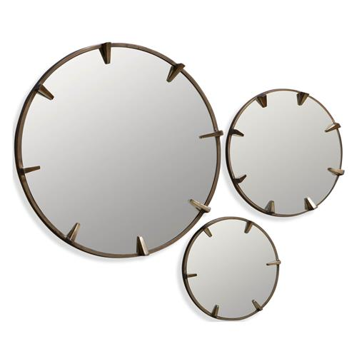 Kaylee Hollywood Regency Mirror Trio | Kathy Kuo Home