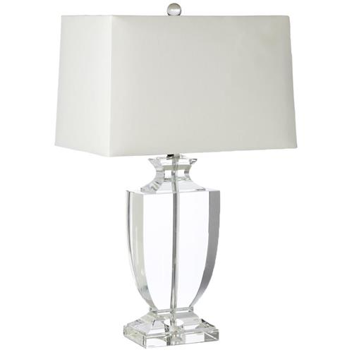 Kedrova Hollywood Regency Crystal Urn Table Lamp