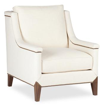 Liam Modern Classic Deco Nail Head Arm Chair