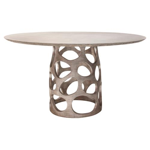 Oly Studio Orson Modern Classic Pedestal Base Dining Table