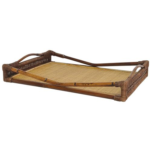 bookshelves for small bedrooms palecek tangier global bazaar geographic woven rattan tray 14638