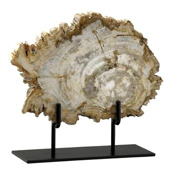 Roswell Medium Petrified Wood Fragment Sculpture