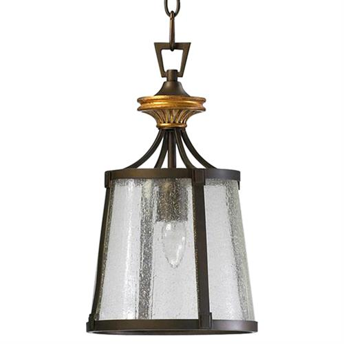 San Giorgio Spanish Revival 1 Light Bronze Foyer Pendant
