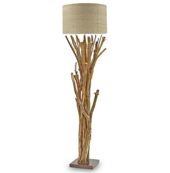 umber rustic lodge bundled branches floor lamp s. Black Bedroom Furniture Sets. Home Design Ideas