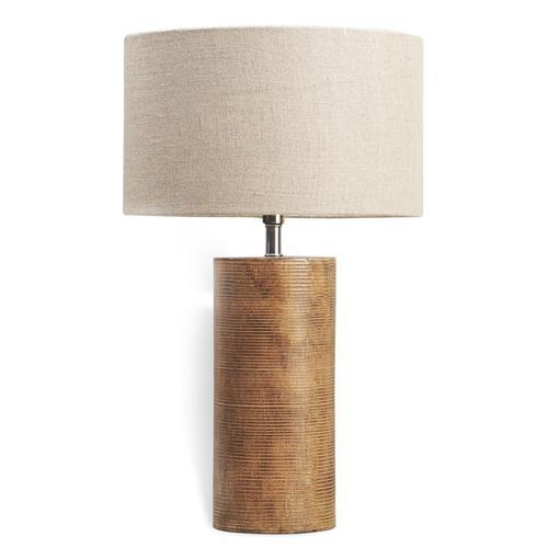 Wiscasset Modern Wood Cylinder Lamp