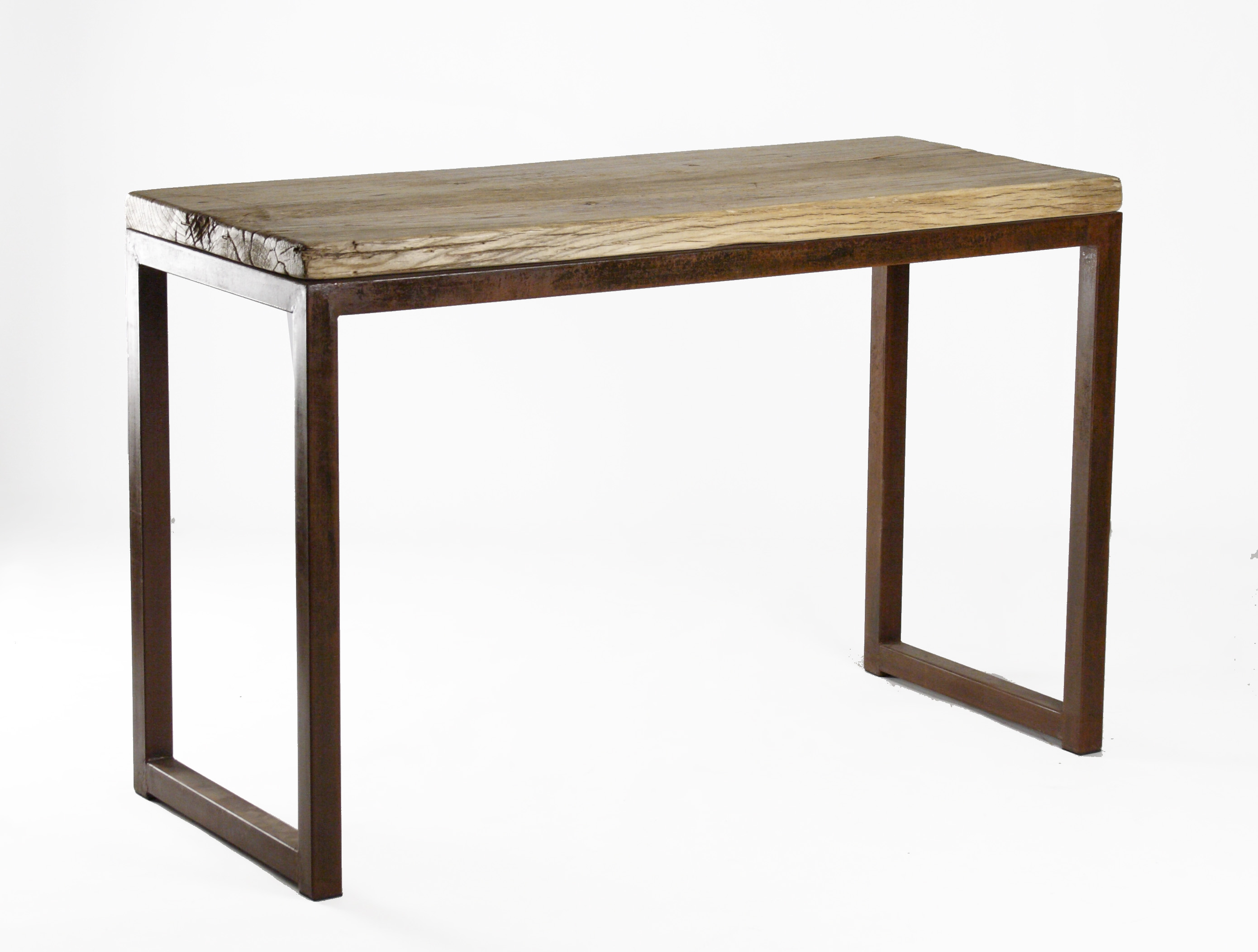 Modern Rustic Reclaimed Wood Console