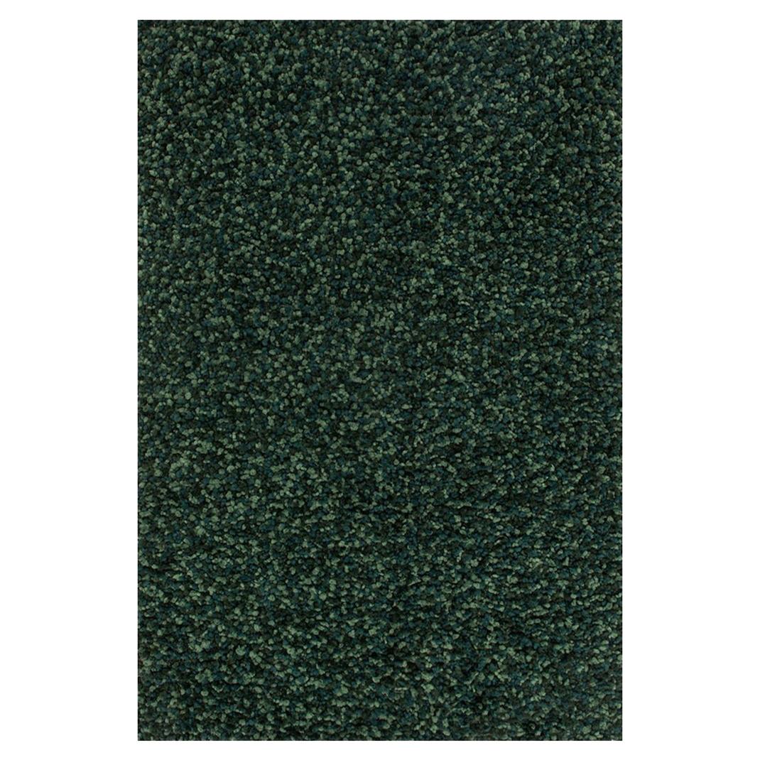 Alvin Modern Classic Emerald Green Pom Shag Rug - 3'6x5'6