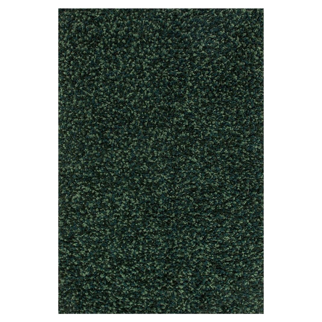 Alvin Modern Classic Emerald Green Pom Shag Rug - 5x7'6