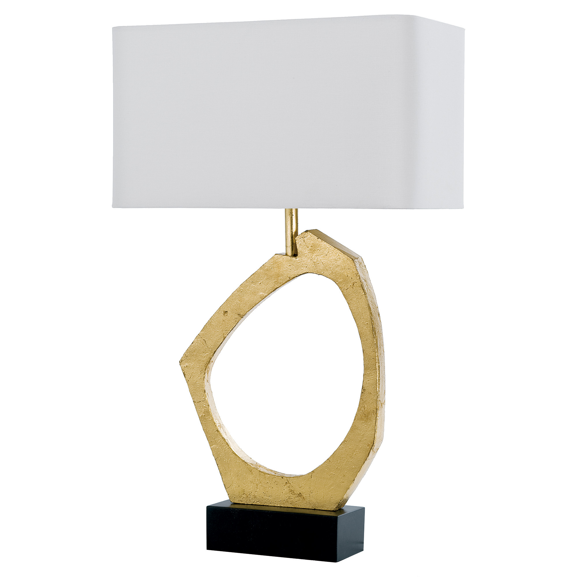 Bradshaw Modern Classic Gold Abstract Table Lamp