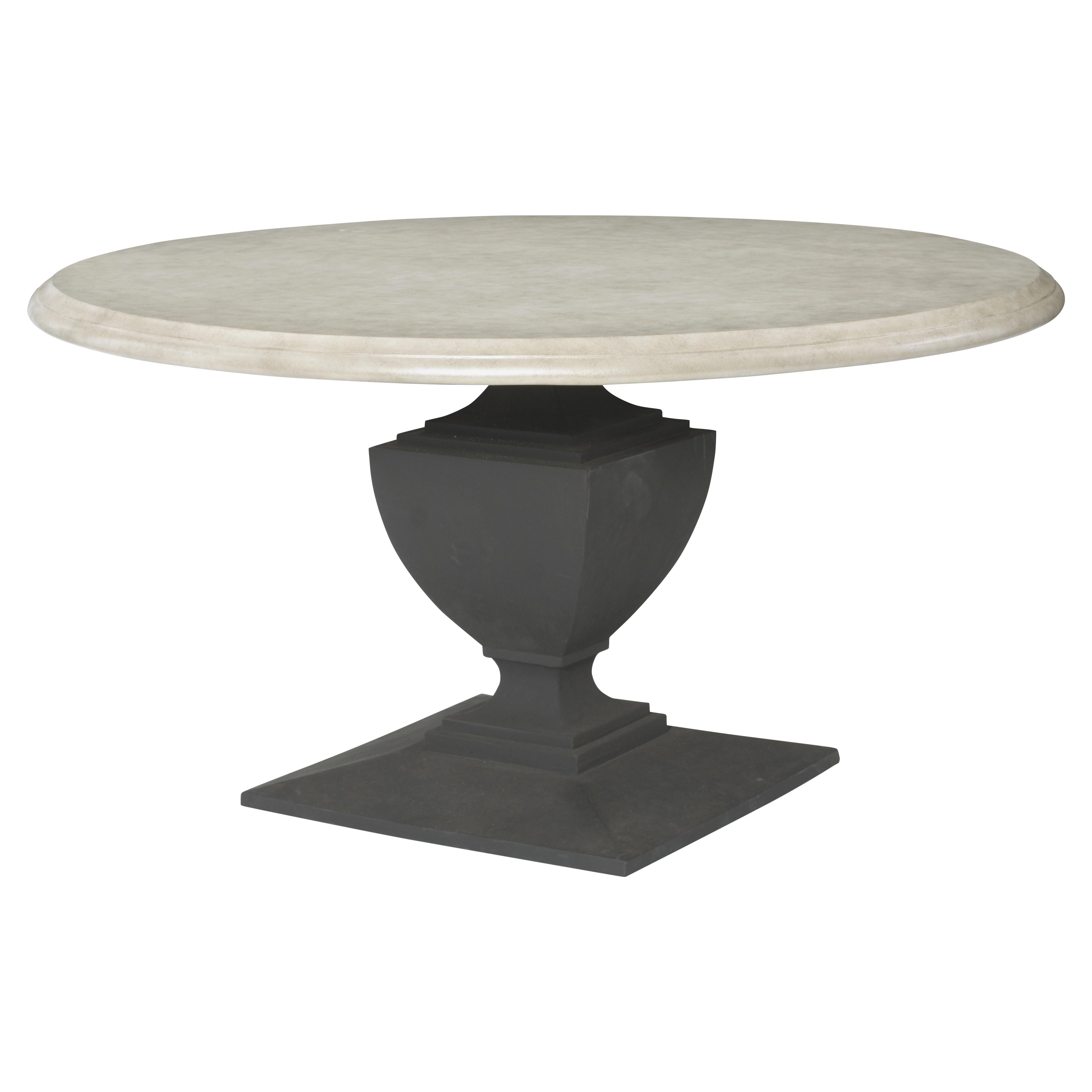 Outdoor Dining Tables Kathy Kuo Home - Concrete pedestal table base