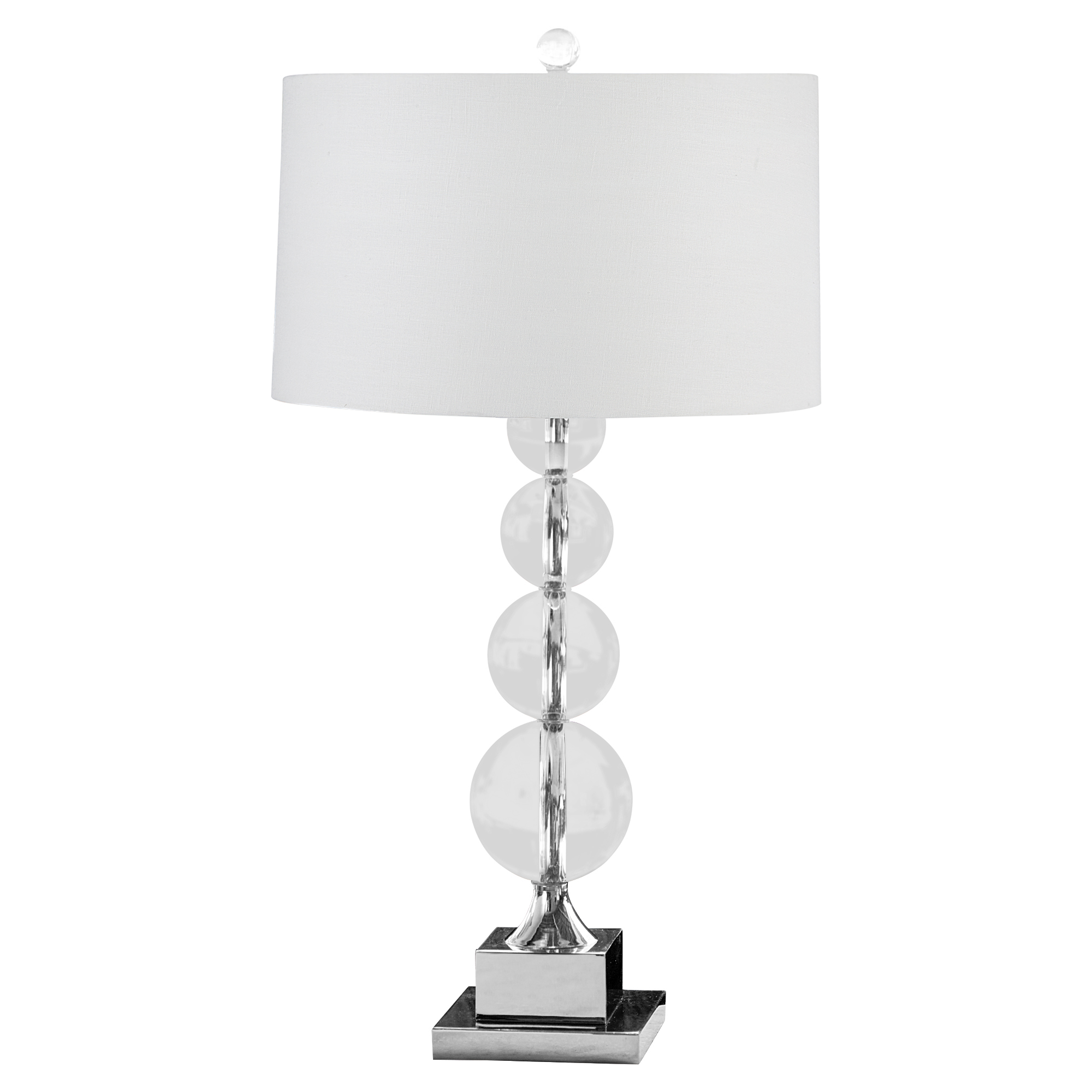 Leroy Modern Classic Stacked Orb Table Lamp