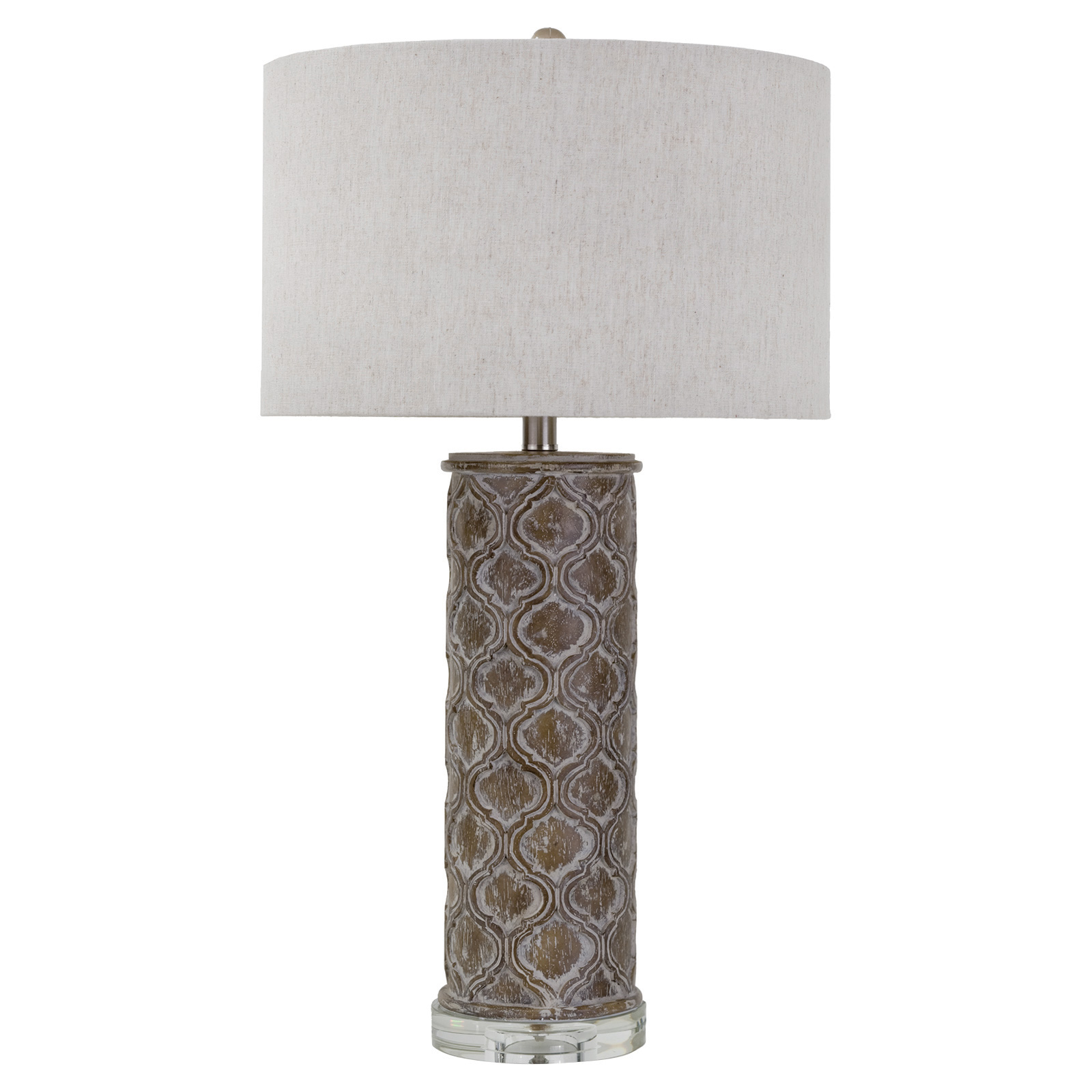 Sendak French Country Rustic Column Table Lamp